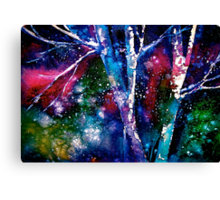 Winter...The Nothing That Is.... Canvas Print