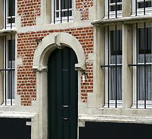 Lier Beguinage - Windows and Door by Gilberte