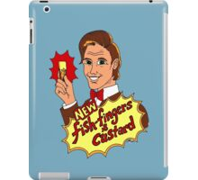 """New Fish-Fingers and Custard!"" iPad Case/Skin"
