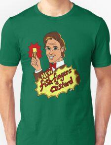 """New Fish-Fingers and Custard!"" T-Shirt"