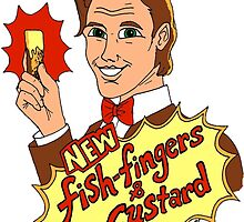 """New Fish-Fingers and Custard!"" by Skye Tranter"