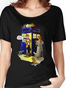 Cat Lady Companion Women's Relaxed Fit T-Shirt