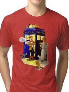 Cat Lady Companion Tri-blend T-Shirt