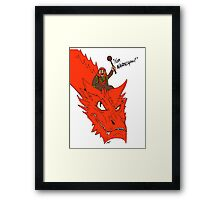 """For Narnia!"" Framed Print"
