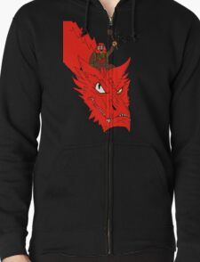 """For Narnia!"" Zipped Hoodie"