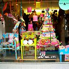 Christmas window by atelierxt