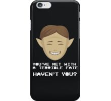 Mask Salesman iPhone Case/Skin