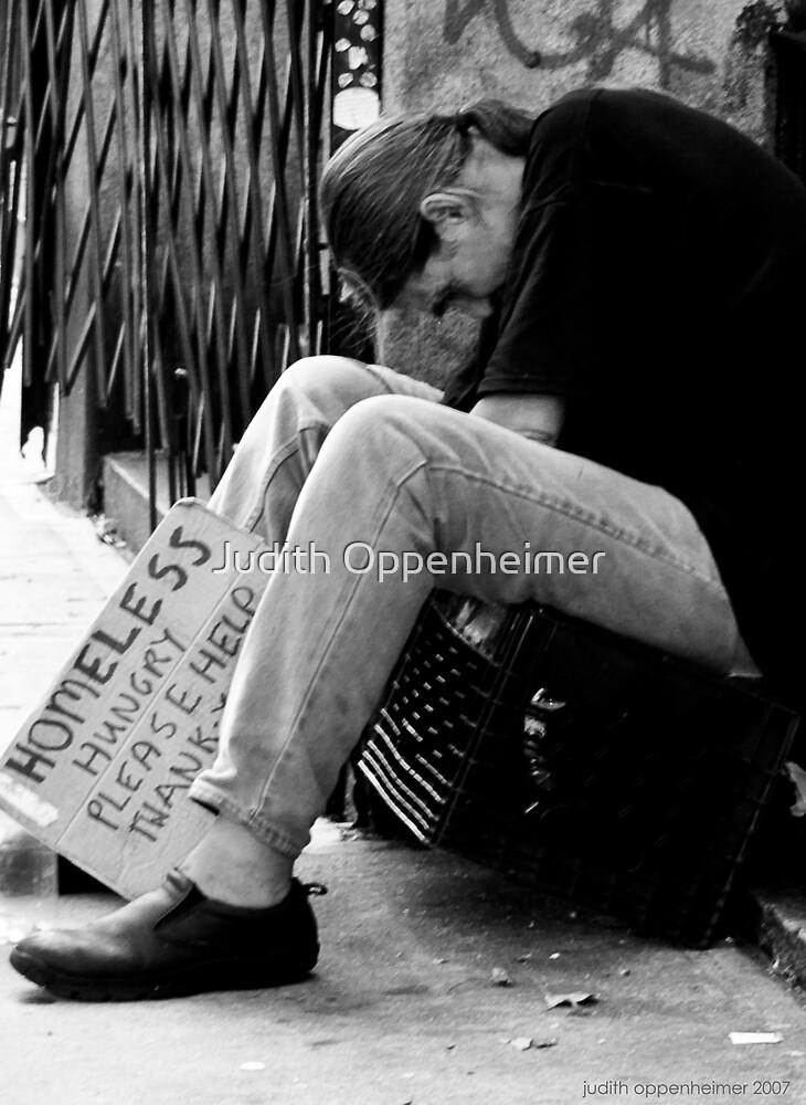 Homeless Hungry by Judith Oppenheimer