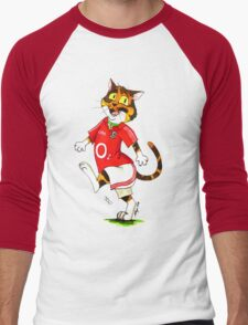 SkyeCatz: Cork Bindi! Men's Baseball ¾ T-Shirt