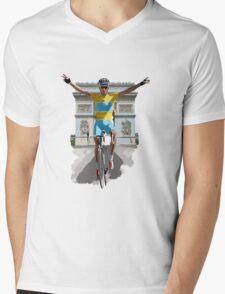 Triomphe Mens V-Neck T-Shirt