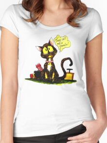 SkyeCatz: Cindy the Gremlin Women's Fitted Scoop T-Shirt