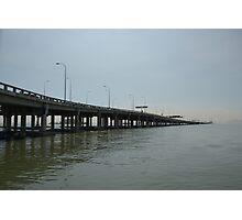 Penang Bridge Photographic Print