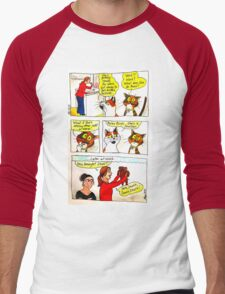 SkyeCatz - Going to Work! Men's Baseball ¾ T-Shirt