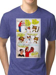 SkyeCatz - Going to Work! Tri-blend T-Shirt