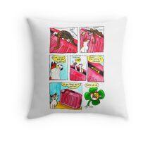 SkyesCatz: Irish Trip Throw Pillow