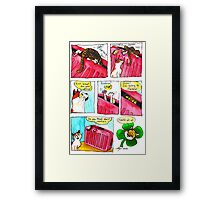 SkyesCatz: Irish Trip Framed Print