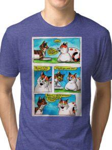 SkyeCatz: #1 Tri-blend T-Shirt