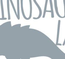 Crazy Dinosaur Lady (Tyrannosaurus)  Sticker