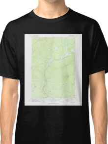Maine USGS Historical Map Quill Hill 102903 1969 24000 Classic T-Shirt