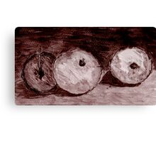 Pen & Ink Drawing Canvas Print