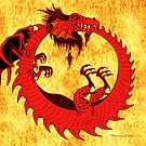 Dragon-Ouroboros by Patricia Anne McCarty-Tamayo