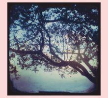 Sunset trees ttv photograph One Piece - Long Sleeve