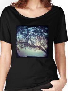 Sunset trees ttv photograph Women's Relaxed Fit T-Shirt