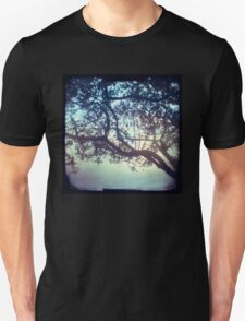 Sunset trees ttv photograph Unisex T-Shirt