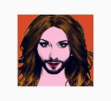 Conchita Wurst - Pop Art - Orange version 3 Unisex T-Shirt