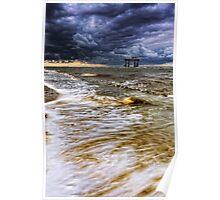 Sizewell Beach Suffolk. Poster