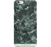 Maine USGS Historical Map Quill Hill 807080 1977 24000 iPhone Case/Skin