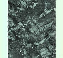 Maine USGS Historical Map Quill Hill 807080 1977 24000 by wetdryvac