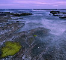 Colours of sunset by Geraldine Lefoe