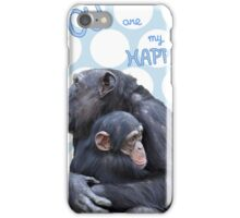 You are my HAPPY! (green-blue) iPhone Case/Skin