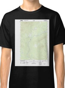 Maine USGS Historical Map Quill Hill 20110909 TM Classic T-Shirt