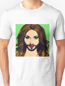 Conchita Wurst - Pop Art - Green version 1 T-Shirt