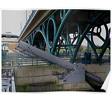 The River Tees barrage 3 Poster