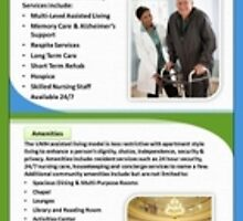 Benefits of Assisted Living by Infographics