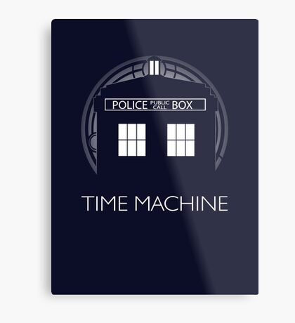 TIME MACHINE Metal Print