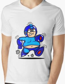 Mega Man Mens V-Neck T-Shirt