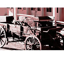 Spare Wheel Photographic Print