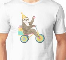 Birthday Sloth Unisex T-Shirt