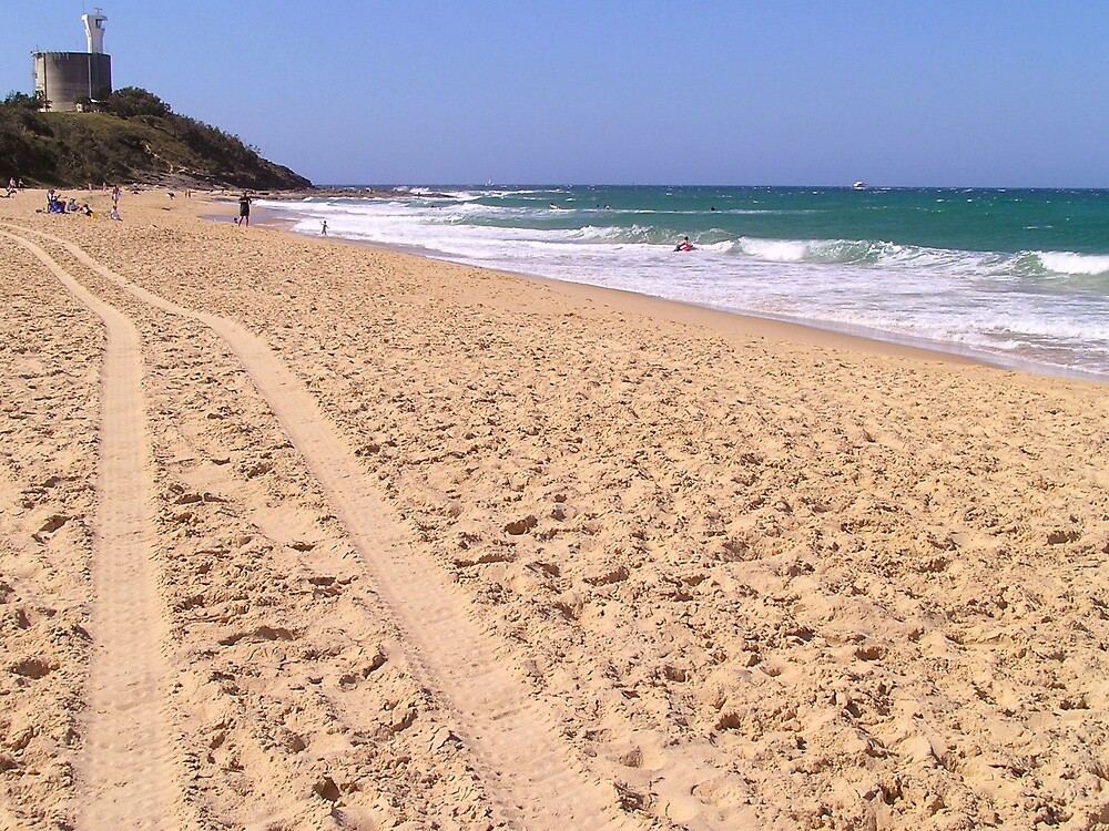 Point Cartwright Beach Australia by Natalie Grant