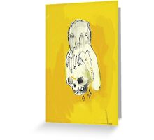 Ol' Yello Greeting Card