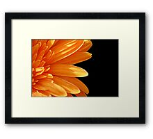 Side Touch Framed Print
