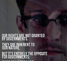Snowden NSA Libertarian Rights Liberties  by psmgop