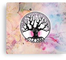 When colours blossom Canvas Print