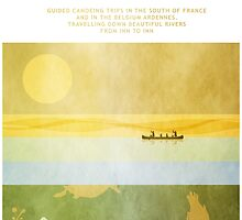 Poster Ducks Diving  by Steven House