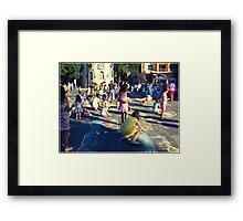 Paint competition Framed Print