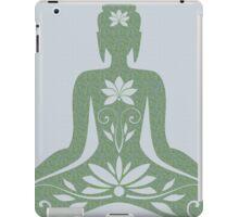 Sitting Buddha in Meditation Yoga  iPad Case/Skin